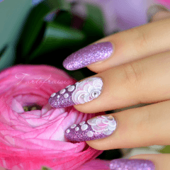 formation Nail Art One Stroke