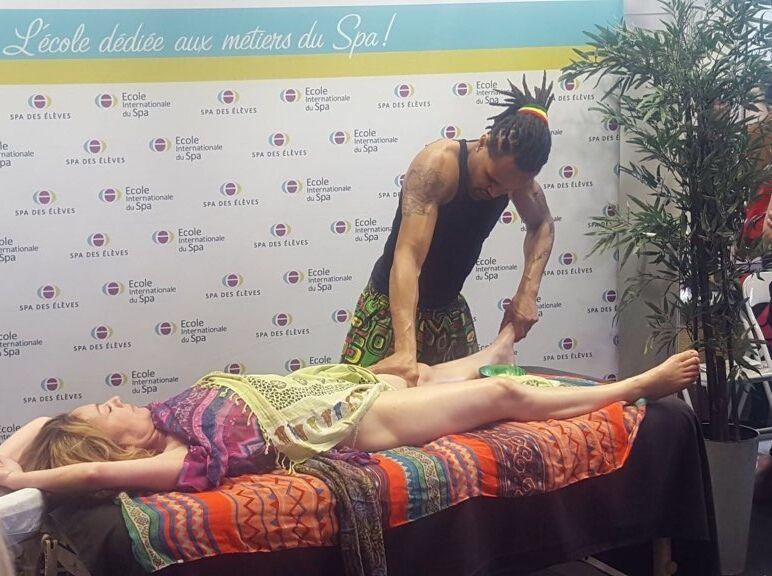 Franck Alexis massage congrès 2018