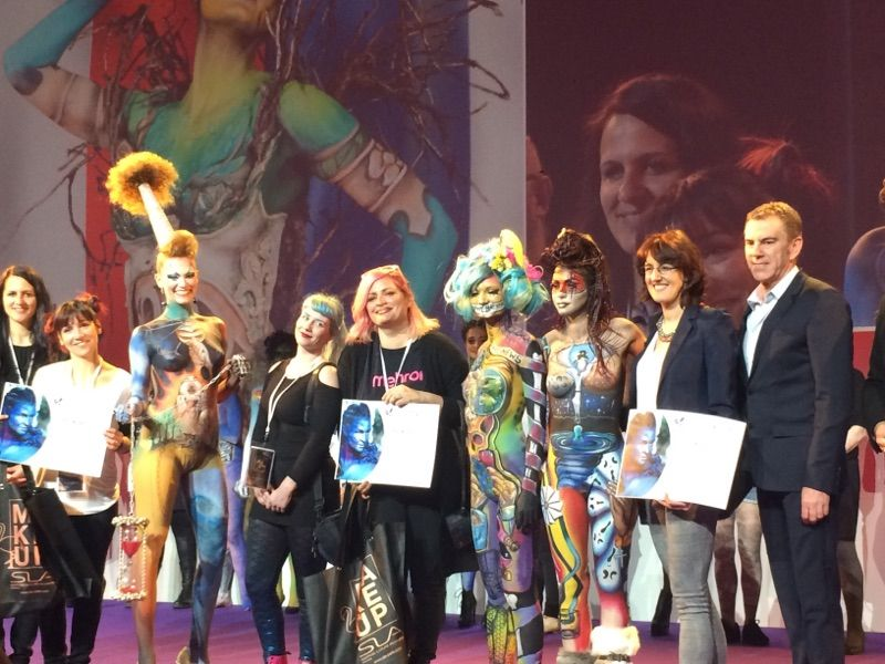 finalistes body painting