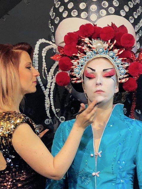 Maquillage pro congrès 2018