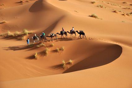 sahara desert of morocco in africa