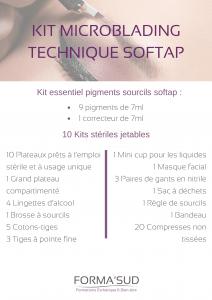kit microblading technique softap forma'sud