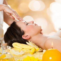 Massage visage détox